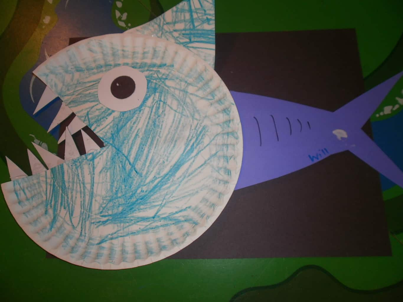 Shark Crafts Kids Cake Ideas And Designs