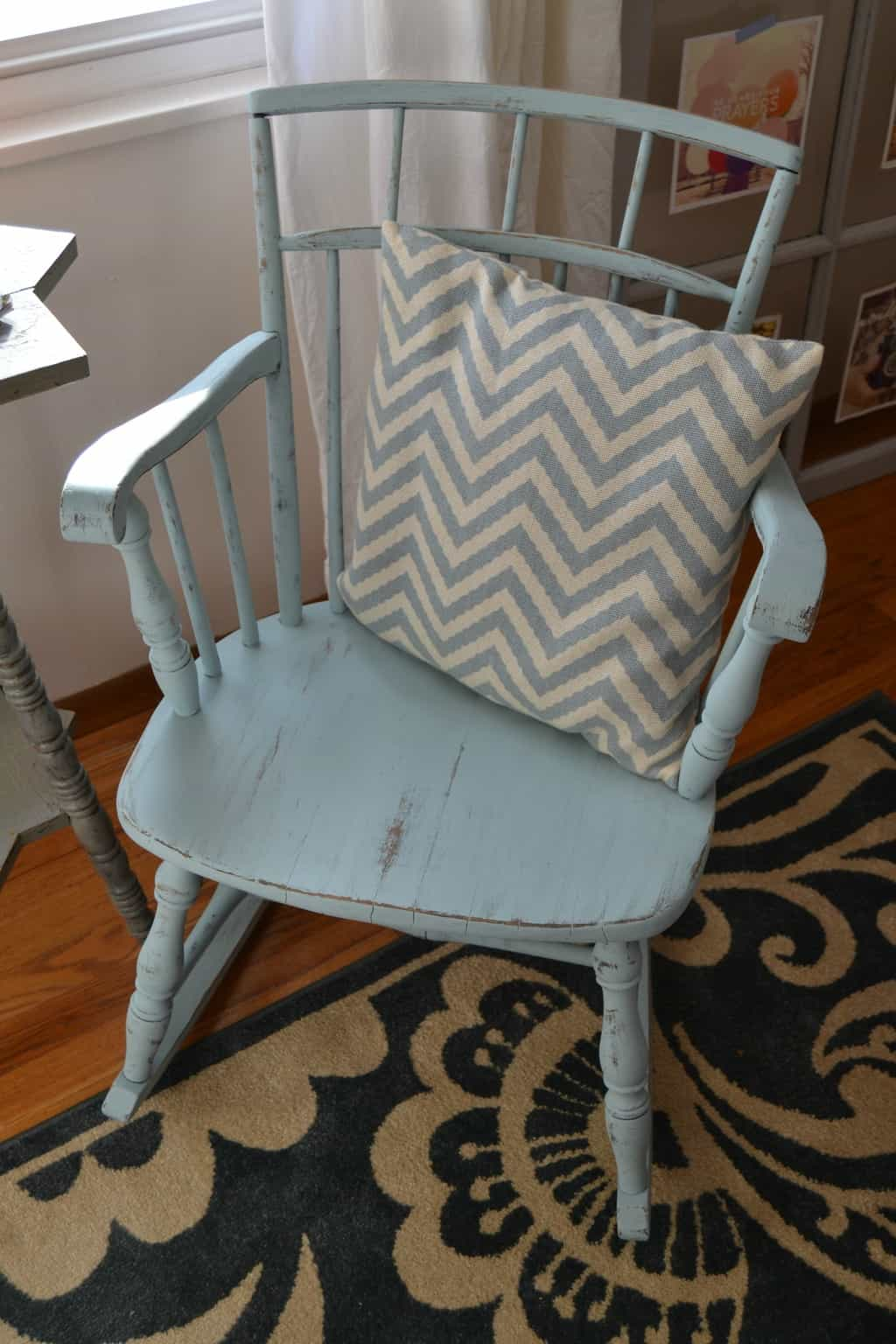 Amazing photo of Head over to Country Chic Paint blog to see this rocking chair's  with #674326 color and 2212x3318 pixels