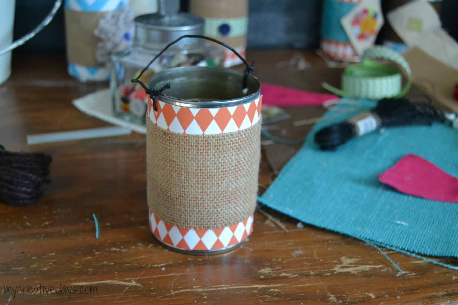 DIY May Day Baskets mycreativedays.com