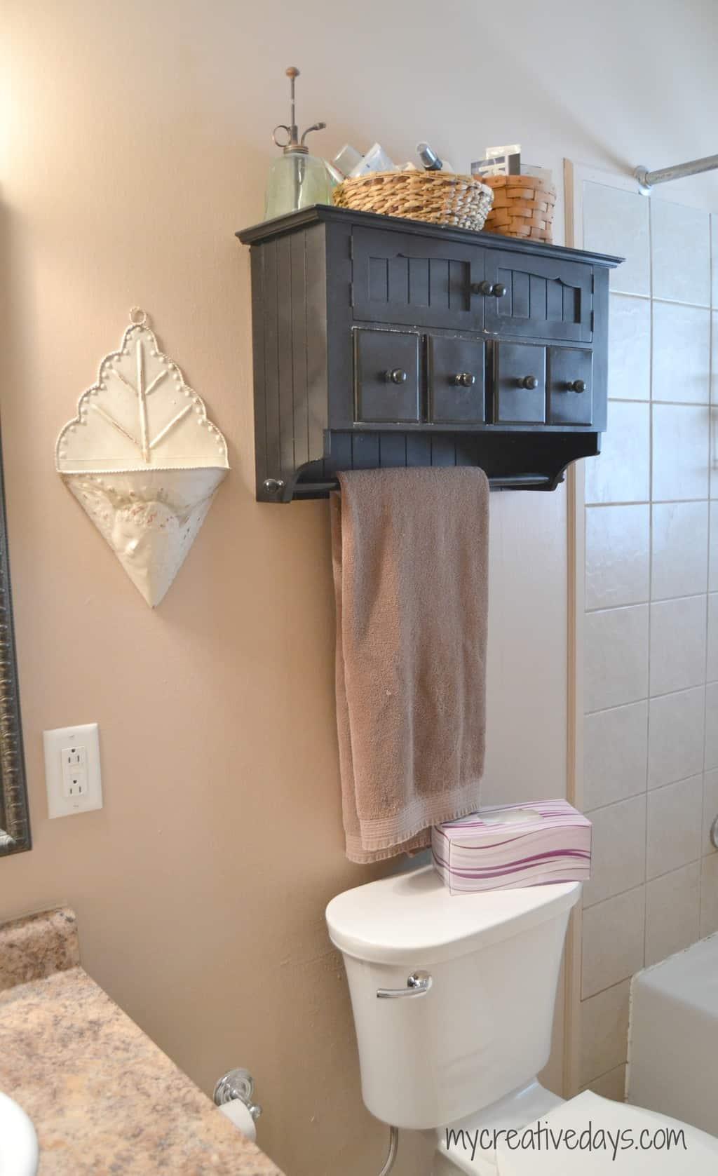Small Bathroom Makeover Under $50 mycreativedays.com