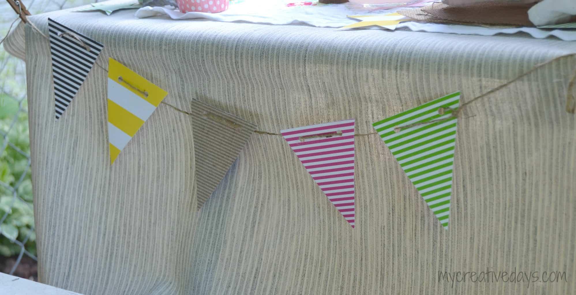Stars and Stripes Tea Party mycreativedays.com