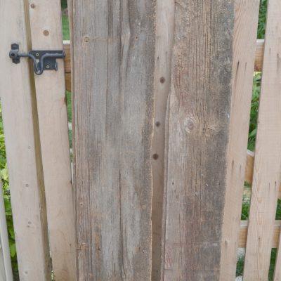 Metal Wrapped Barn Wood Arrow