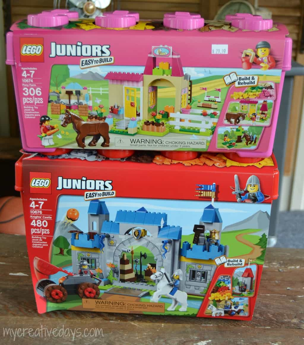 frozen lego junior instructions