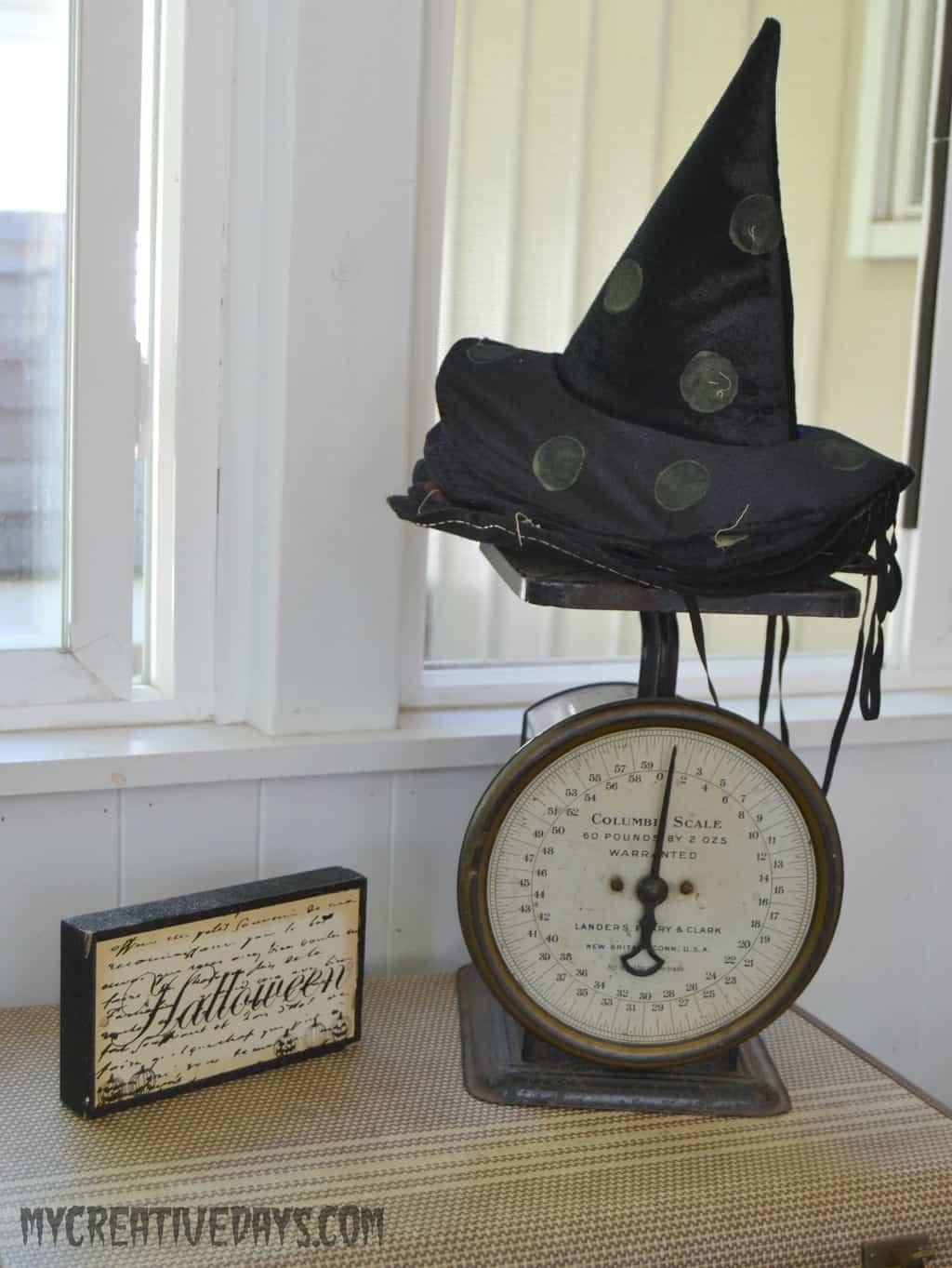 Halloween Home Tour mycreativedays.com