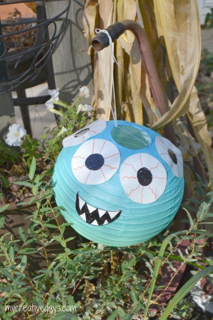 DIY Halloween Decorations Cute Paper Lantern Monsters