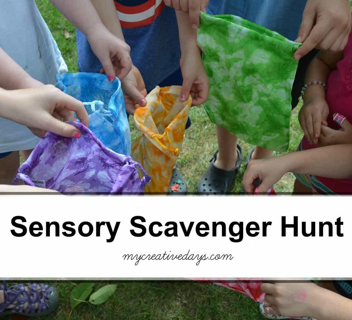 Sensory Scavenger Hunt mycreativedays.com