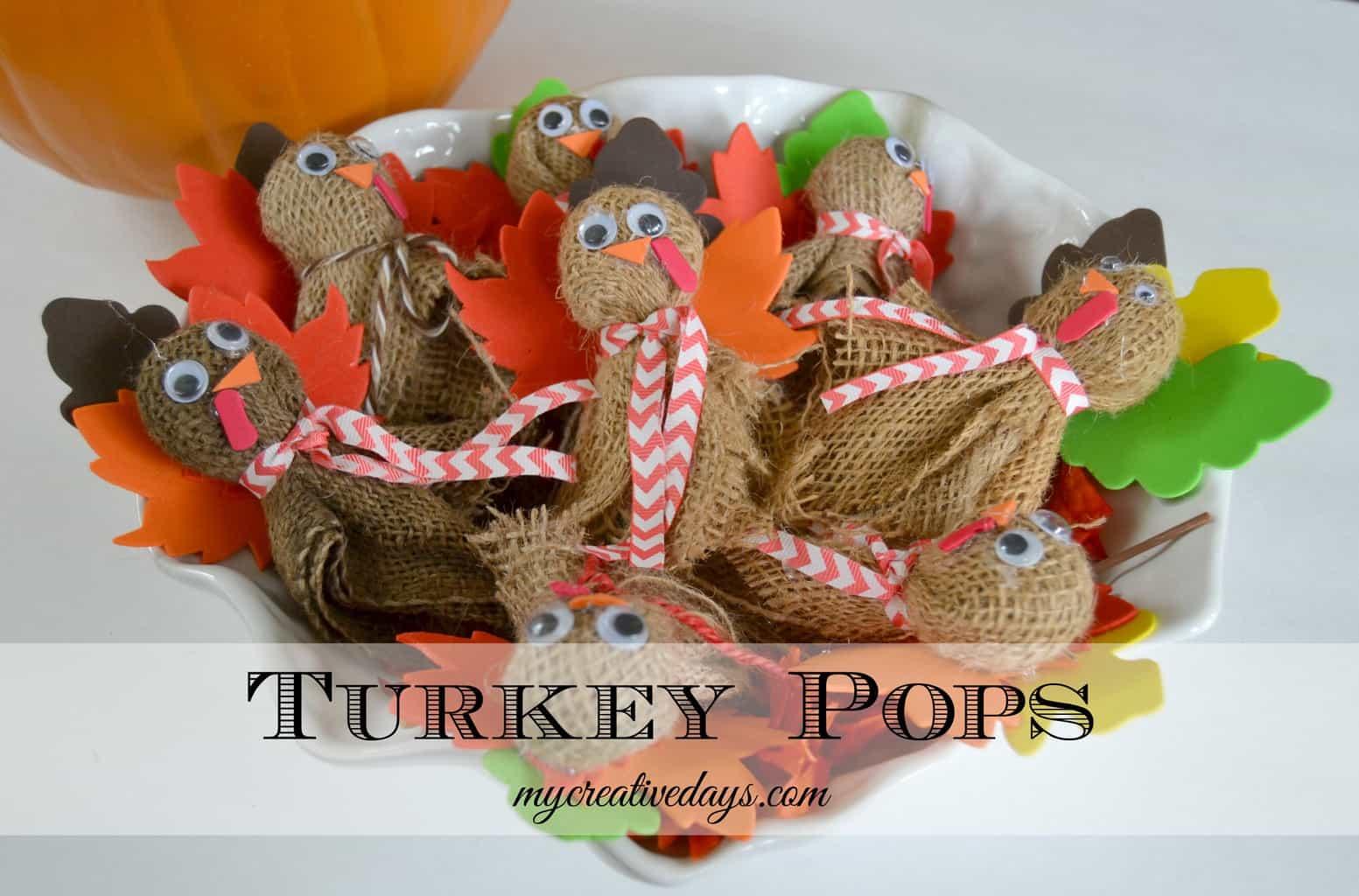 Turkey Pops mycreativedays.com