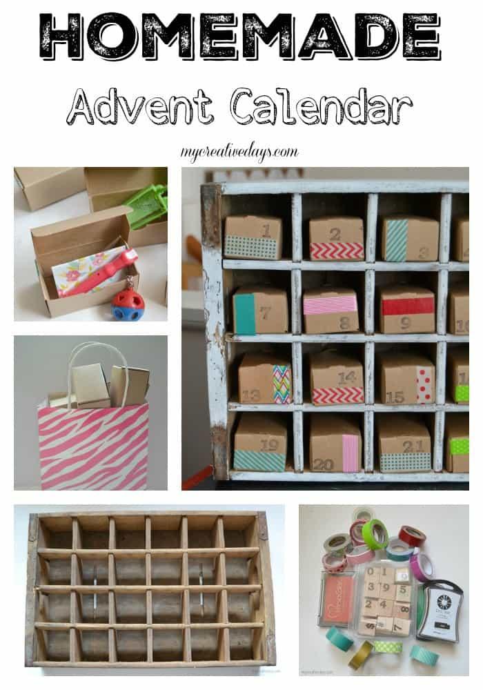 Homemade Advent Calendar MyCreativeDays.com