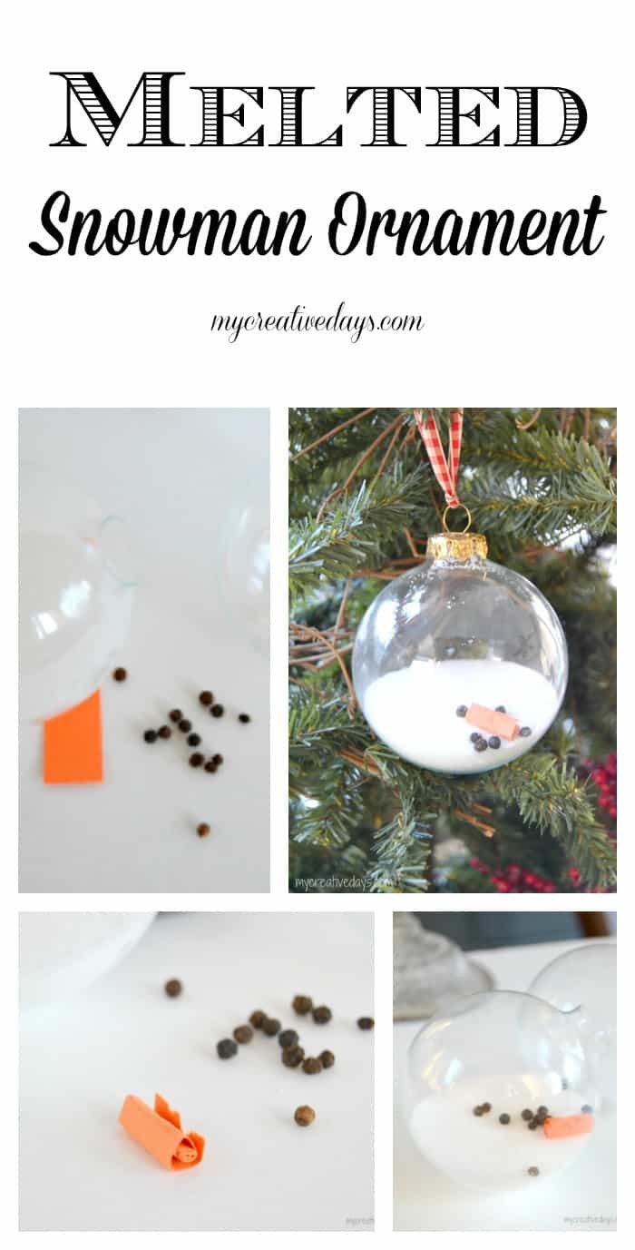 A Homemade Christmas Ornament That Uses Kitchen Staples To