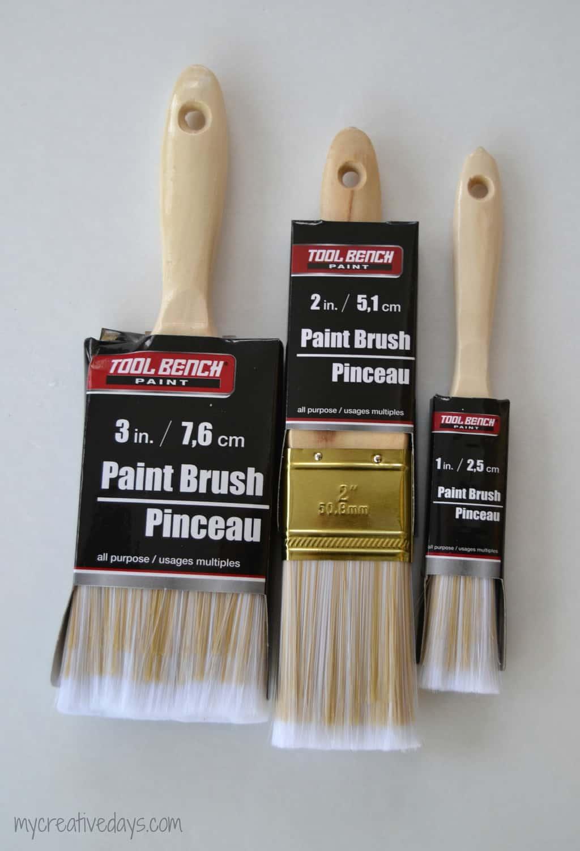 Paint Brush Santas mycreativedays.com