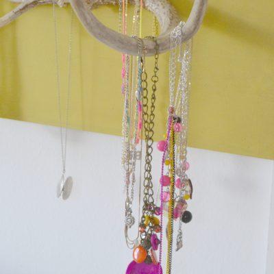 DIY Antler Jewelry Holder