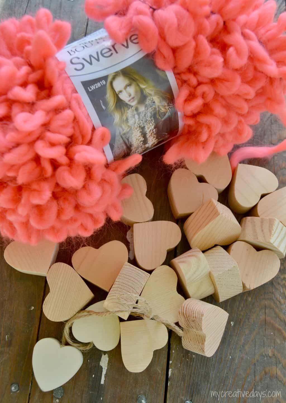 Easy DIY Valentine Garland mycreativedays.com