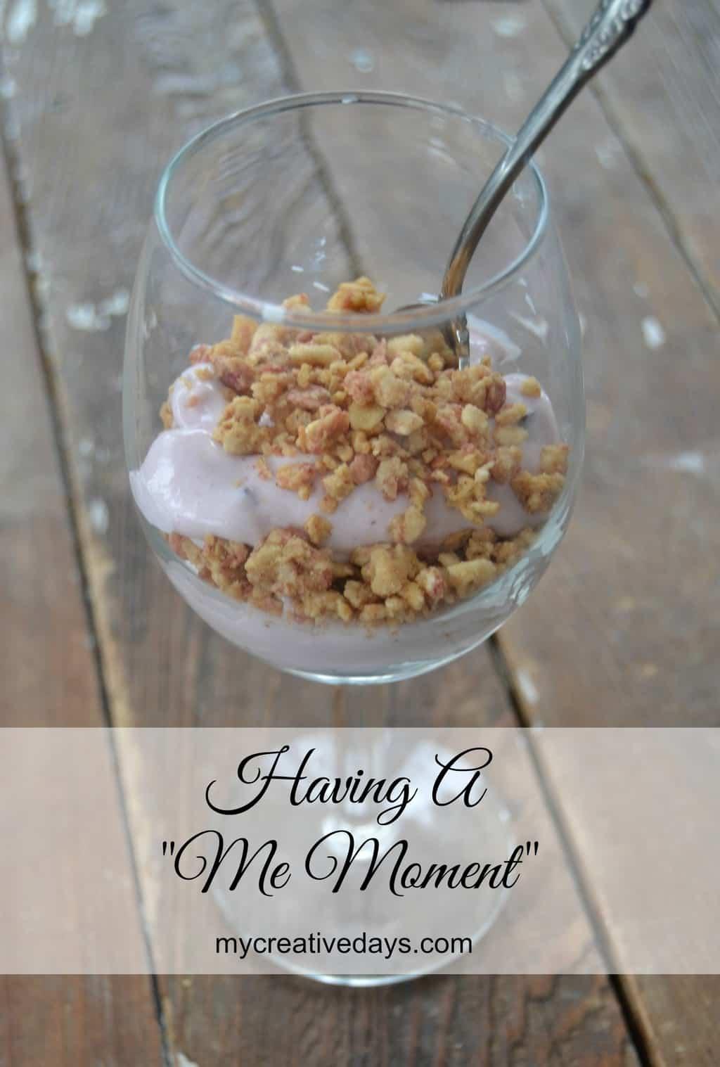 """Having A """"Me Moment"""" mycreativedays.com"""