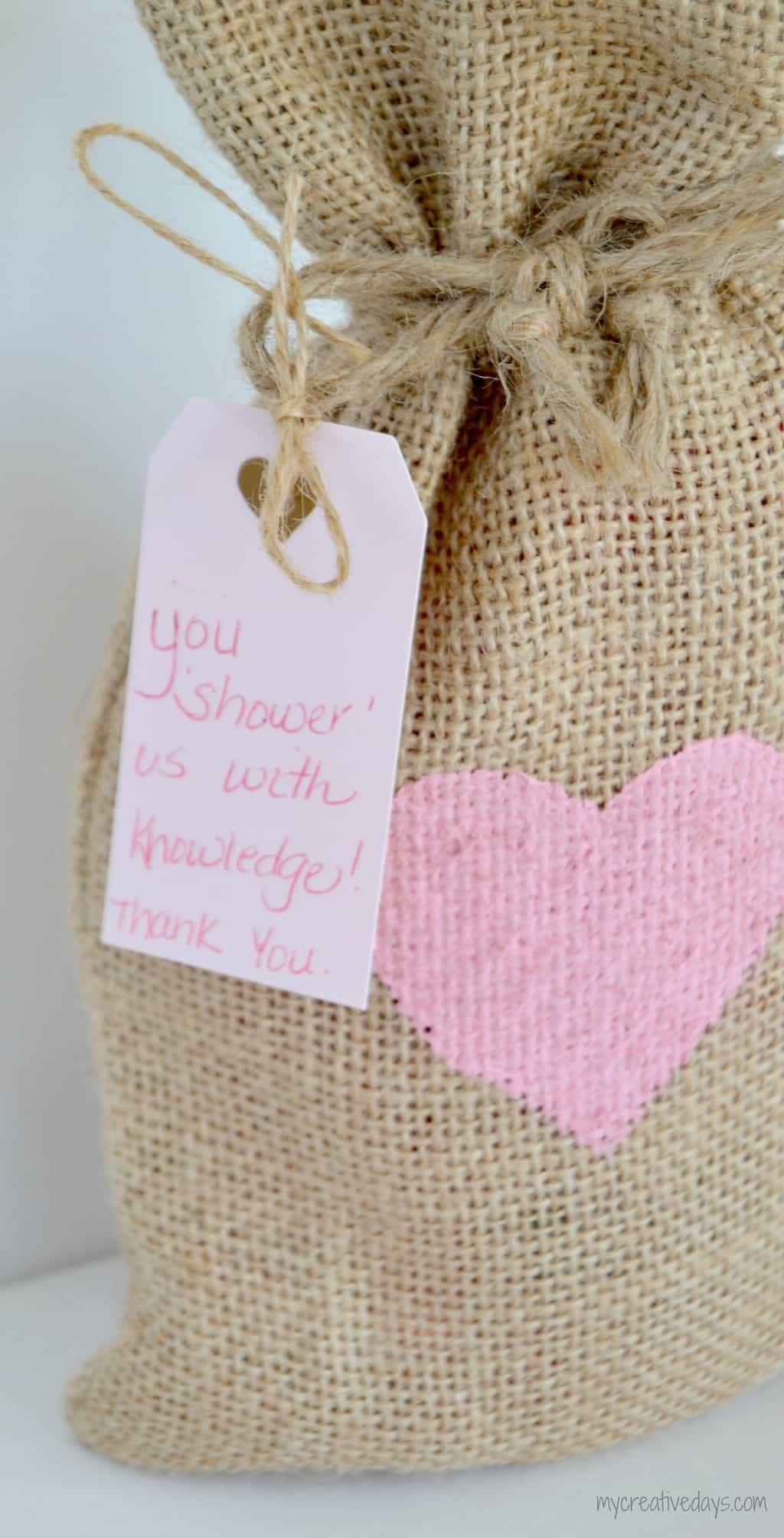 Valentine For Teachers {#MakeIt Challenge} mycreativedays.com