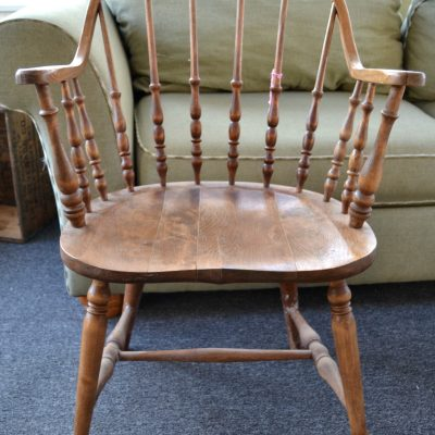 Chair Makeover With Velvet Finishes