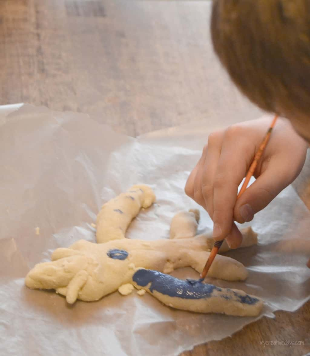 Salt dough craft to celebrate the release of big hero 6 for Salt dough crafts figures