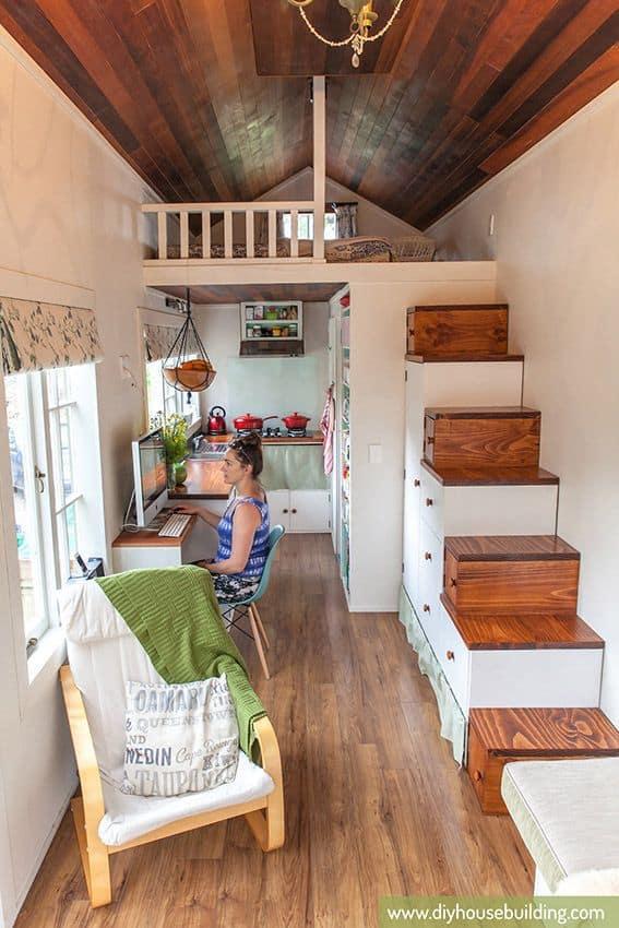 Tiny Home Infatuation mycreativedays.com