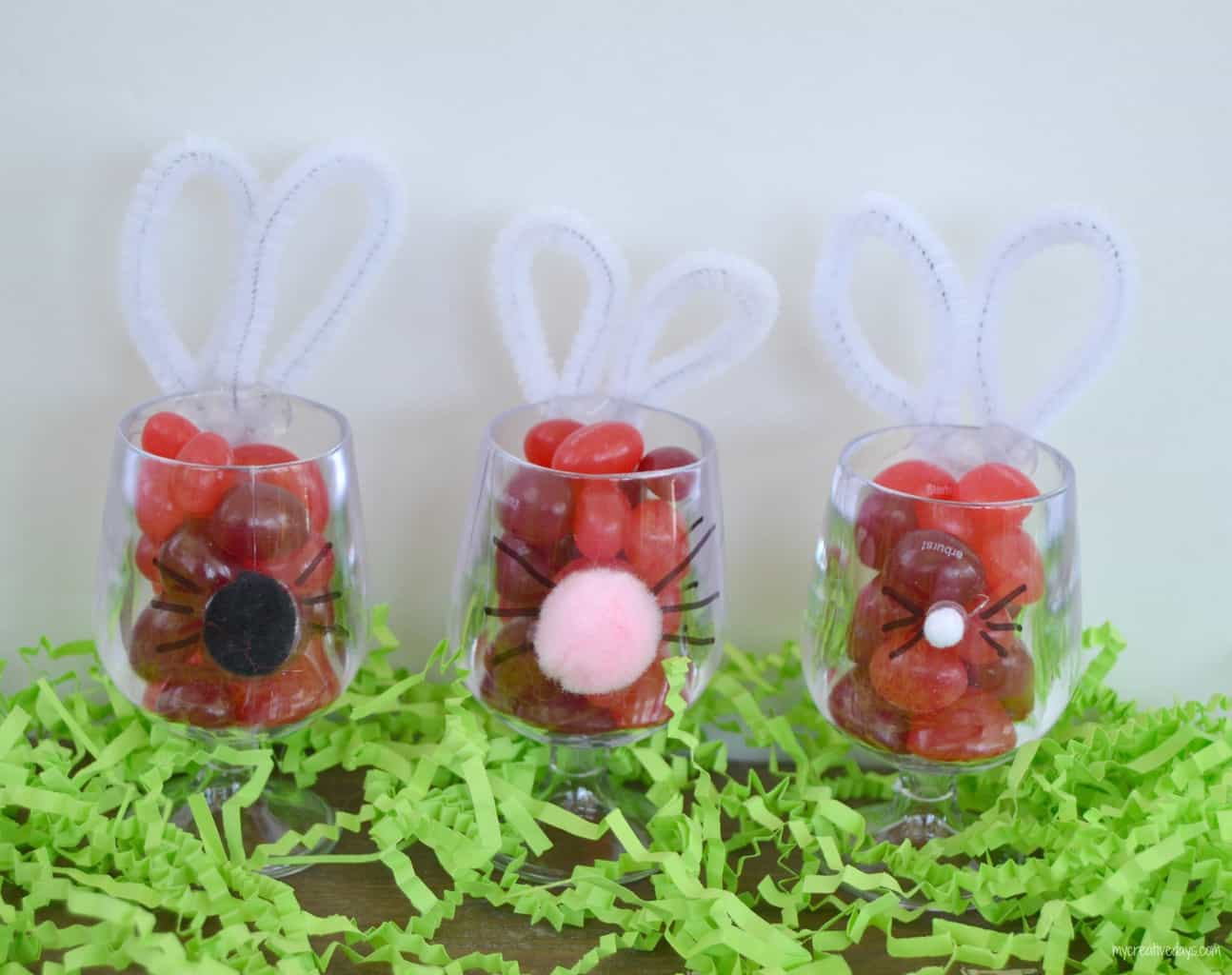 Bunny Favors For Easter mycreativedays.com