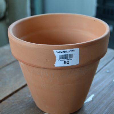 Peek-A-Boo Terra Cotta Pots {Make It Challenge}