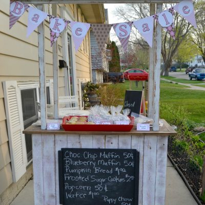 Repurpose An Old Cabinet Into A Lemonade Stand