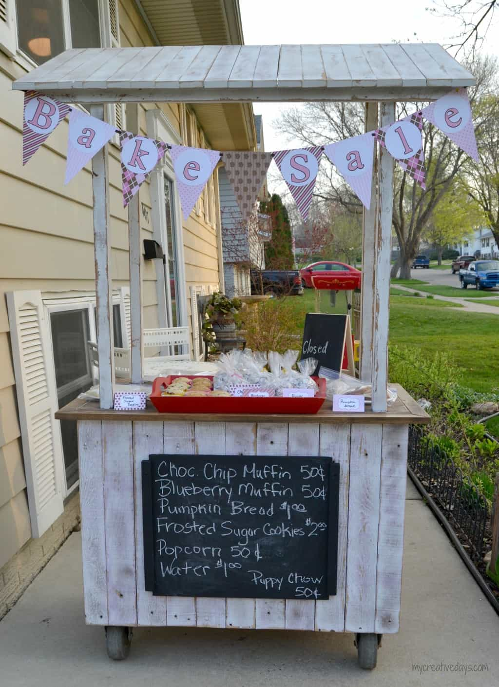 repurpose an old cabinet into a lemonade stand my creative days pin this middot repurpose an old cabinet into a lemonade stand mycreativedays com
