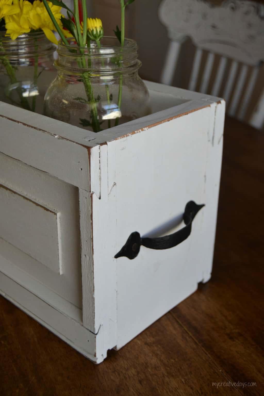 DIY Mason Jar Caddy mycreativedays.com
