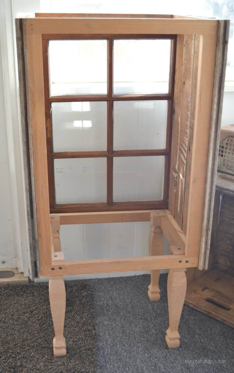 Pin This · Do You Love Old Windows And Have A Few On Hand? Make A DIY Window