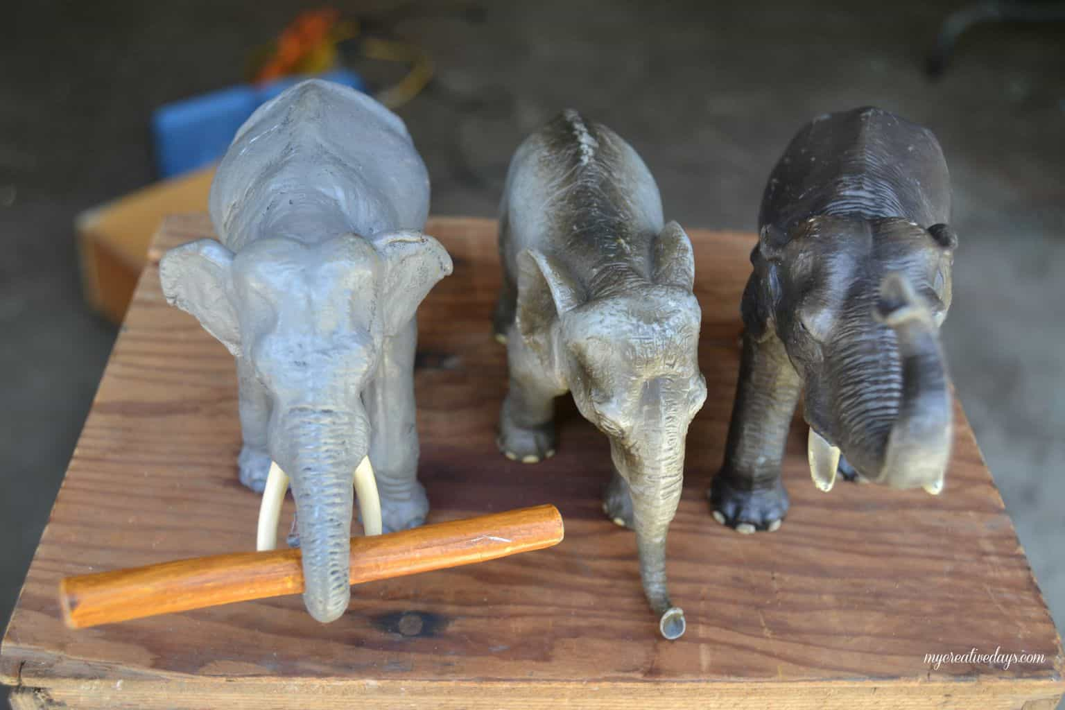 DIY Elephant Knobs mycreativedays.com