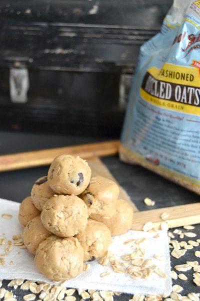 Peanut Butter Protein Ball Recipe