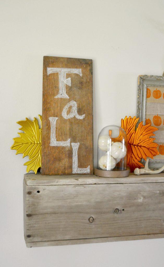 Fall Mantel 2015 mycreativedays.com