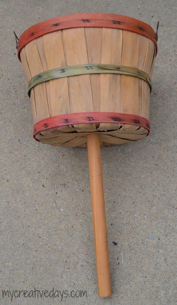 Upcycled Fall Bushel Basket
