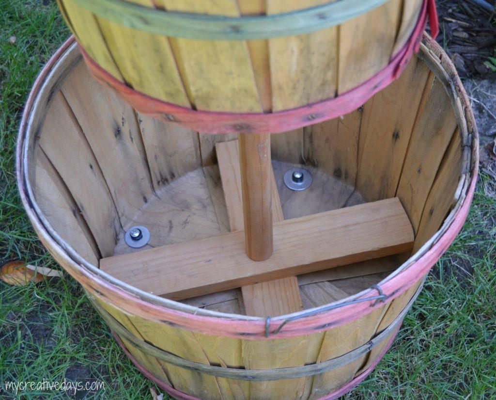 Fall Bushel Basket Project