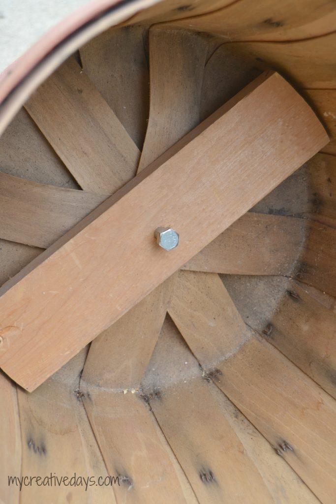 DIY Fall Bushel Basket Tier Project