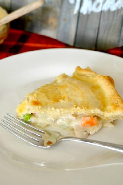 Are you looking for a good chicken pot pie recipe without all the fuss? Click over to get this Easy Chicken Pot Pie Recipe that will quickly become a family favorite!