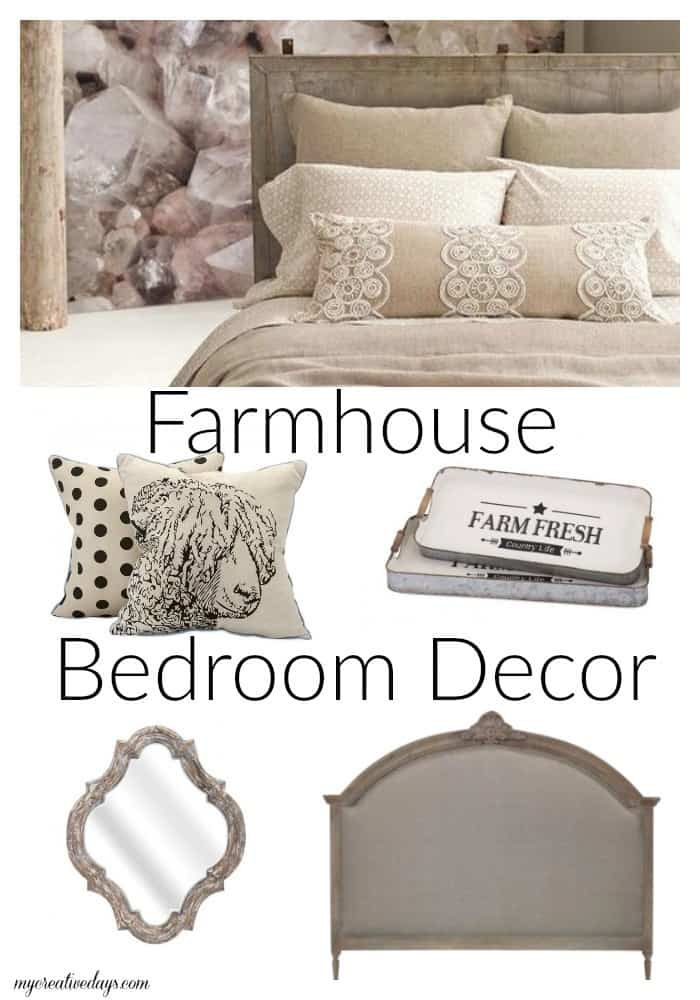 Farmhouse Bedroom Decor MyCreativeDays.com