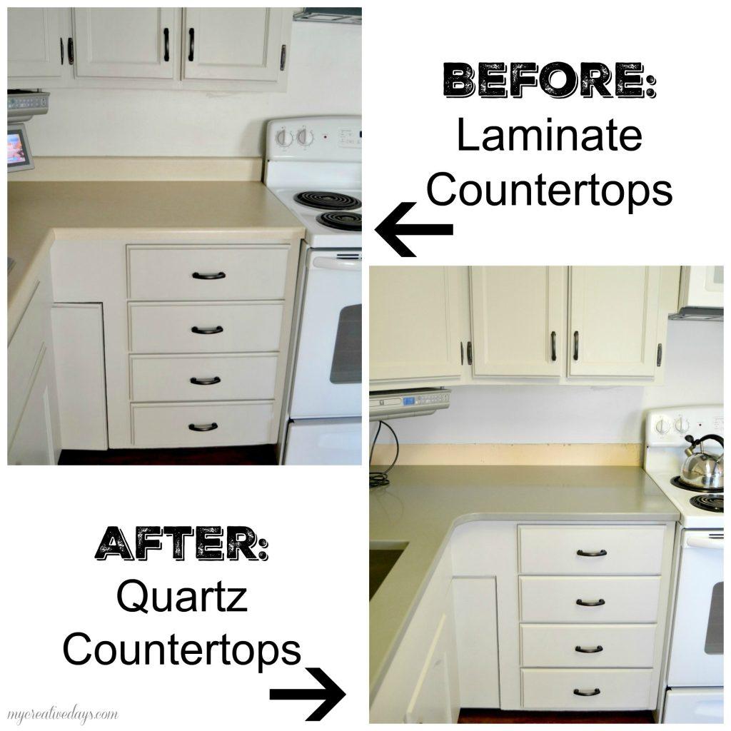 MyCreativeDays.com: Kitchen Makeover 2015: Quartz Countertops