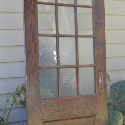 Schoolhouse Door Makes Charming Hall Tree {Themed Furniture Makeover}
