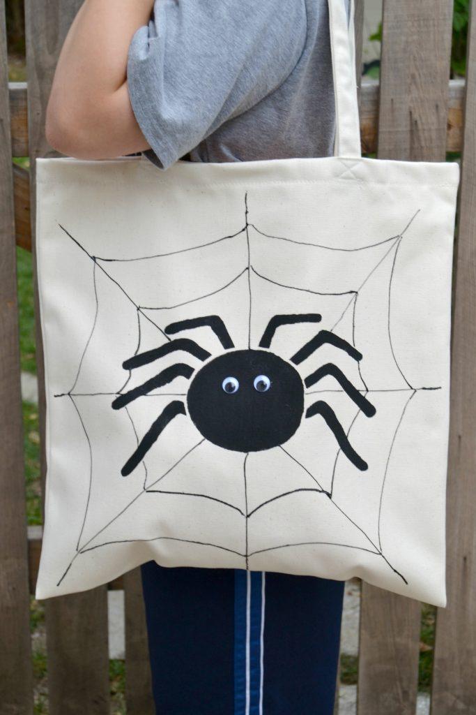 Painted Halloween Bags7