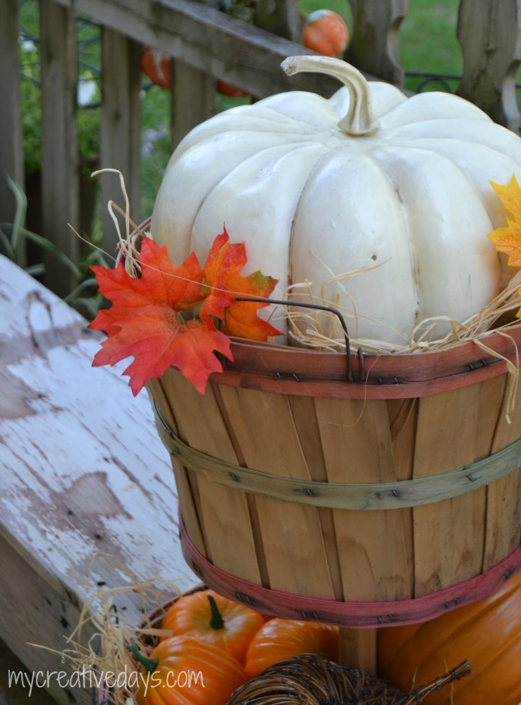 Fall Bushel Basket