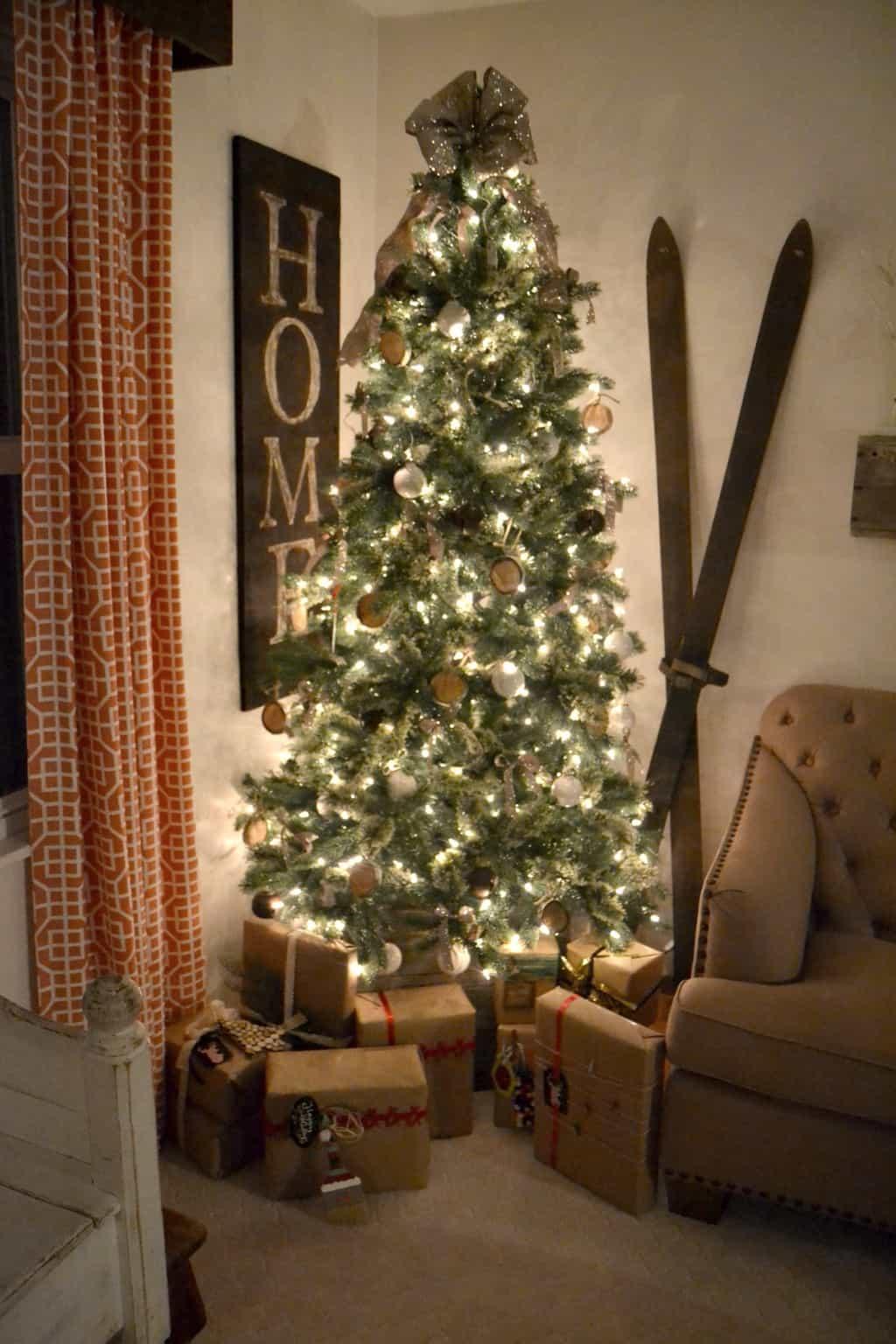 Cashmere Pre Lit Christmas Tree