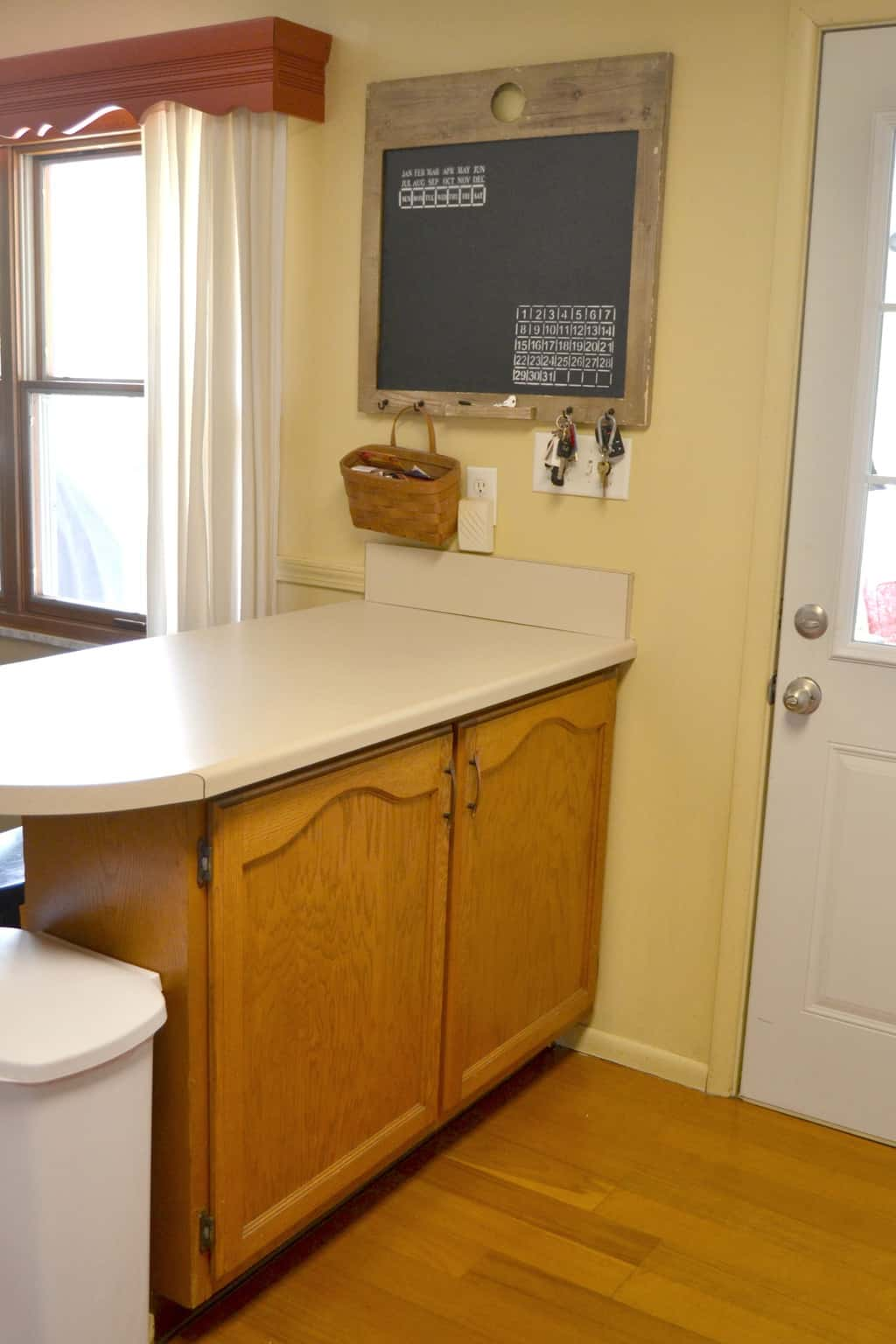 Pin This · Kitchen Bar Makeover With Corbels