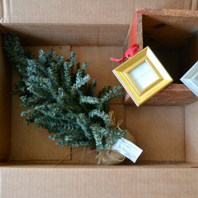 Desktop Christmas Countdown :: Thrift Store Swap