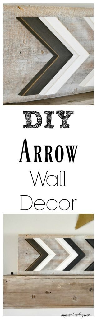 If you are looking for arrow wall decor to add to your space, look no further. Click over and see how you can DIY your own arrow wall decor in under 5 minutes!