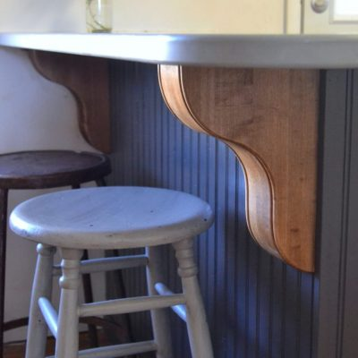 Wood Corbels For The Kitchen Island