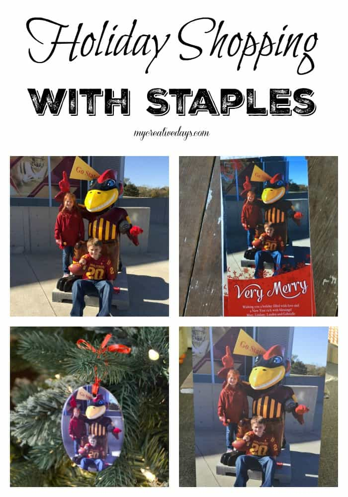 MyCreativeDays.com Holiday Shopping With Staples