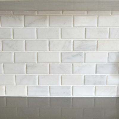 How To Install Carrara Marble Tile Backsplash