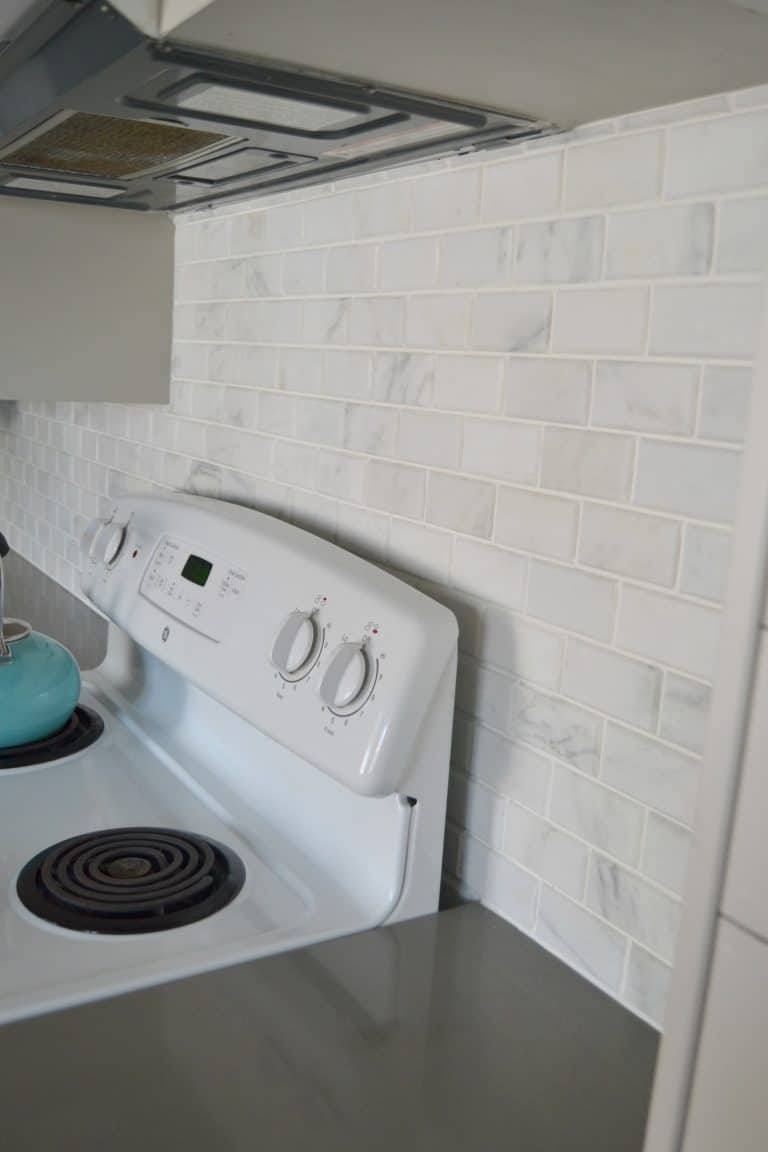 How To Install Carrara Marble Tile Backsplash On Your Own.
