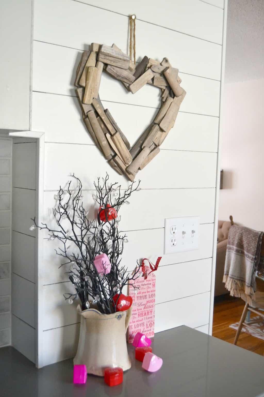 Diy Driftwood Heart Wreath My Creative Days