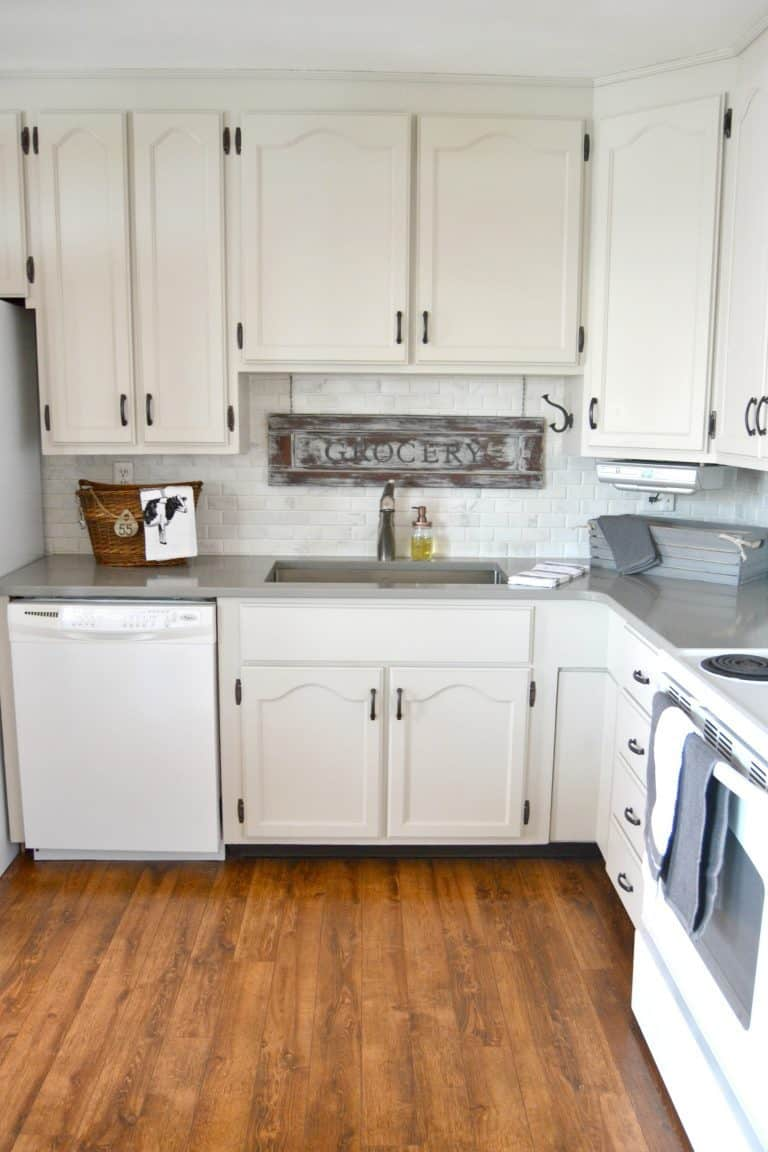 A DIY Kitchen Makeover That Made A Big Impact With A Small Budget