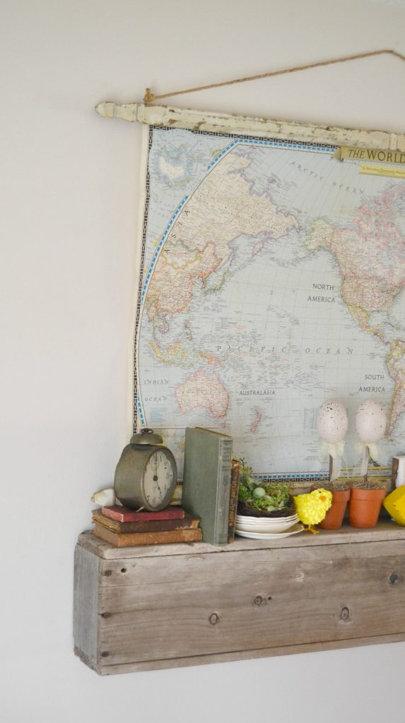 DIY Architectural Hanging Map | My Creative Days